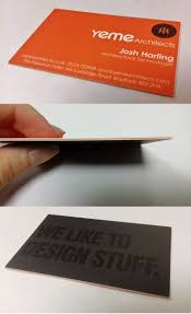 Extra Thick Business Cards 21 Best Business Cards Images On Pinterest Luxury Business Cards