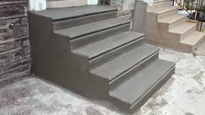 pouring concrete steps with bullnose look woodworkerszone