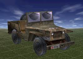 jeep truck 3d model jeep truck textured low poly cgtrader