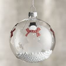 clear ornaments craft ideas trees 2017