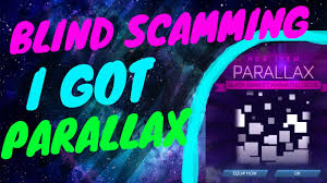 League For The Blind And Disabled Blind Scamming I Got Parallax Omg Rocket League Youtube