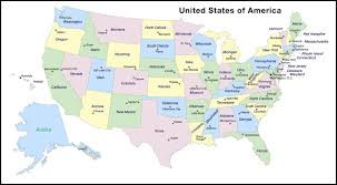Map Of The 50 United States by Printable Us Map With Capitals Map Of Usa State