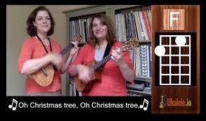 oh christmas tree ukulele tutorial chords 21 songs in 6 days