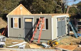 storage shed construction best in backyards