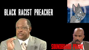 Black Preacher Meme - racist black preacher sounboard prank warning youtube