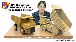 wood toy plans giant coal mine truck youtube