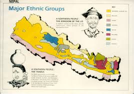 Show Me A Map Of Nepal by World U0027s Most Racially And Ethnically Diverse Continent Cities