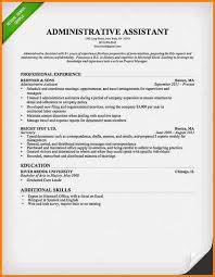 adminstrative assistant resume lukex co