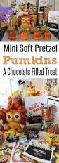 mini pretzel dough pumpkins fall recipe happy and blessed home