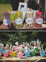 Backyard Wedding Food Ideas Colorful Diy Backyard Wedding Ideas