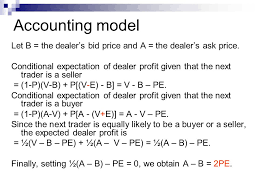 ask e bid dealers and bid ask spreads ppt