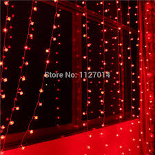 red string lights for bedroom fairy 3 3m 300 red lantern bulbs curtain cortina de led l