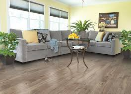light brown and gray laminate wood floor for living room design
