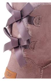 ugg bailey bow sale uk ugg womens ugg bailey bow ii treadlite sole grey ugg womens from
