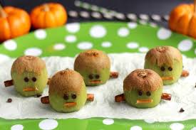 fruit treats frankenstein kiwis another healthy treat