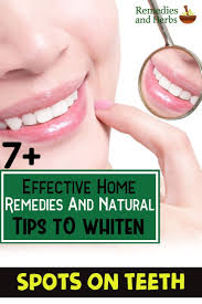 Natural Ways To Whiten Your Teeth 7 Effective Home Remedies And Natural Tips To Whiten Spots On