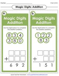 addition worksheets 3 digit