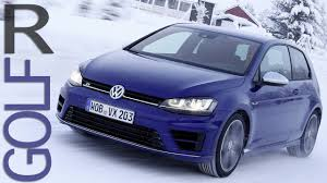 volkswagen winter new vw golf r mk7 snow drift winter test drive youtube