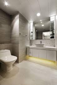 bathroom vibrant bathroom lighting idea with drop in tub and