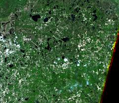Wisconsin Usa Map Siren Wisconsin Usa Earthshots Satellite Images Of