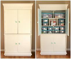 Arts And Crafts Storage Cabinet by 14 Best Craft Storage Armoire Images On Pinterest Craft Rooms