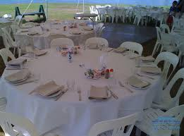 Wedding Table Set Up Setup At Clarkes Point Hunters Hill