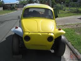 yellow baja bug volkswagen beetle bugeye baja