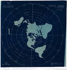 Earth Wind Map Flat Earth Map Created By Gilbert Johnson In 1890 Flatearth