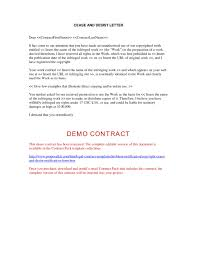 Assist Letter Of Demand Cease And Desist Notification Form Cover Letter Exle
