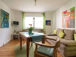 40 Square Meters by Apartment On The Ground On 55 Square Meters With A Large Garden