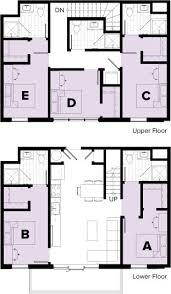 5 bedroom floor plan 5 bedroom 5 bathroom duplex