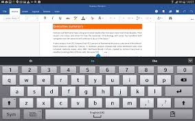 office app for android check spelling in the word for android tablet preview stories
