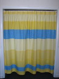 Blue And Yellow Shower Curtains Light Blue And Yellow Shower Curtains Useful Reviews Of Shower