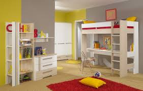 bedroom lovely girls loft bed for kids bedroom furniture ideas white wooden girls loft bed with desk and