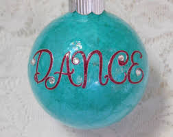 personalized dancer ornament ornament for dancer