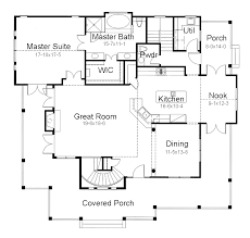 single house floor plans minimalist concept for single floor house