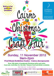 christmas craft fare at fred moule center cairns showgrounds