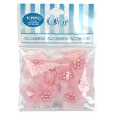 offray accessories find the offray sheer petal value pack powder pink at