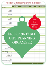 gift list 5 ways to organize your gift lists plus a free