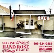 Resale Home Decor Second Hand Rose