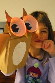 Halloween Crafts Construction Paper by Best 25 Paper Bag Crafts Ideas On Pinterest Paper Bag Puppets
