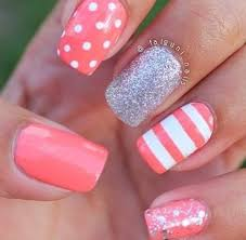 20 classic nail designs you u0027ll want to try now coral nail
