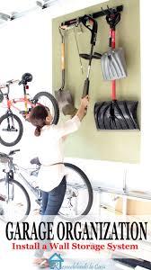 Rubbermaid Garage Organization System - remodelando la casa garage organization install a wall storage