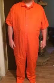 orange jumpsuit authentic prison inmate prisoner costume convict orange