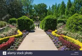 Dallas Arboretum And Botanical Garden Dallas Arboretum And Botanical Garden Stock Photo 75739788