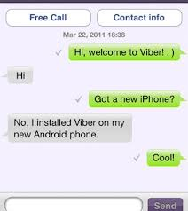 difference between iphone and android difference between whatsapp and viber review mhotspot