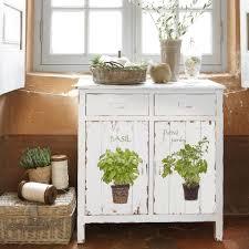 buffet de cuisine blanc buffet de cuisine blanc aromates maisons du monde шкафы столы