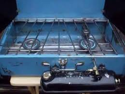 Gas Cooktop Sears 4 Sale 1967 Vintage Blue Sears Camping Stove Model 72312 Vintage