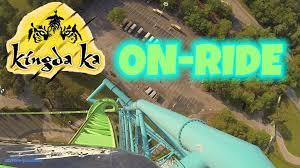 Six Flags Great Adventure Map Kingda Ka On Ride Front Seat Hd Pov Six Flags Great Adventure
