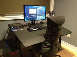 adorable gaming setup desk best ideas about gaming computer desk